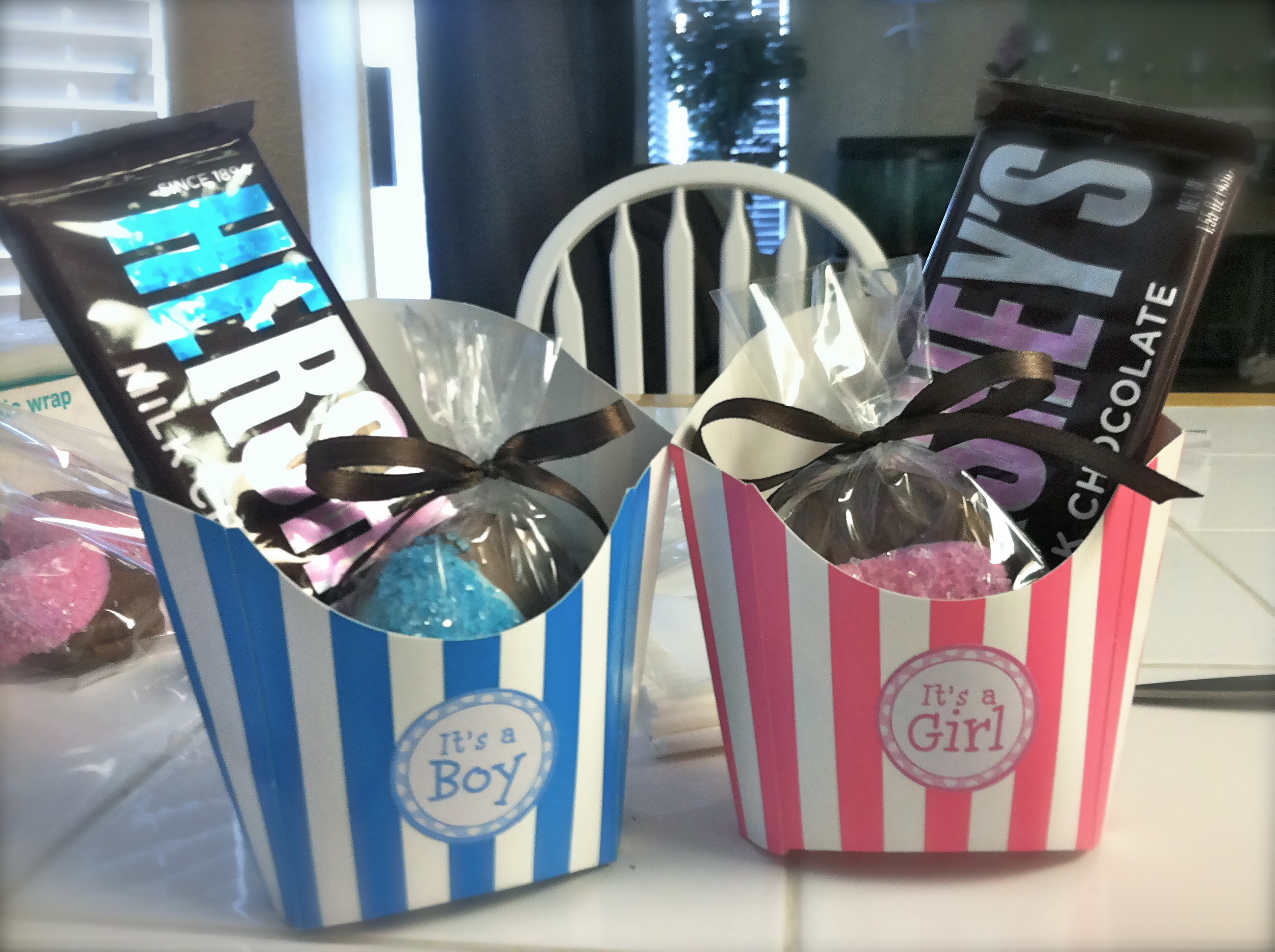 Baby Reveal Gift Ideas  Our Gender Reveal Party