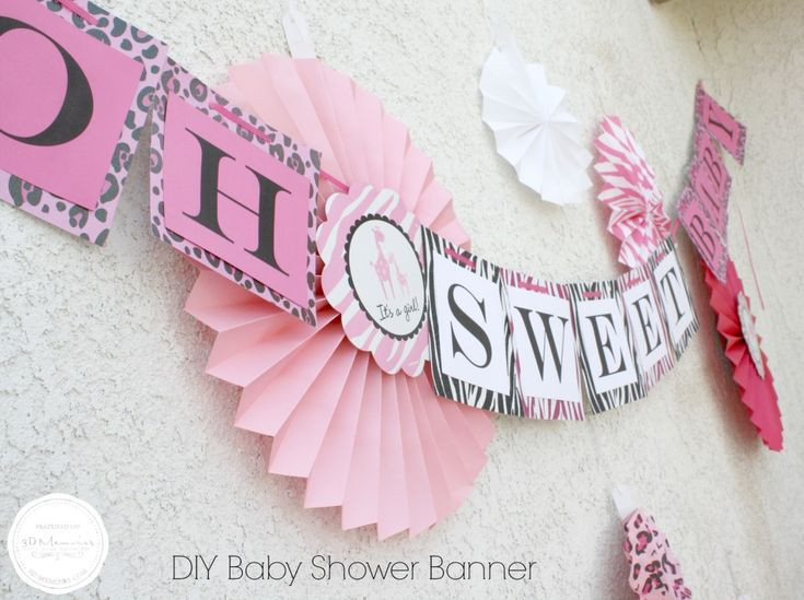 Baby Shower Banners DIY  17 Best images about DIY Craft Ideas for Parties Events on