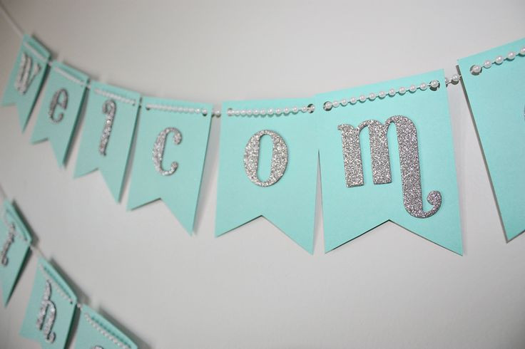 Baby Shower Banners DIY  44 best images about Lettering on Pinterest
