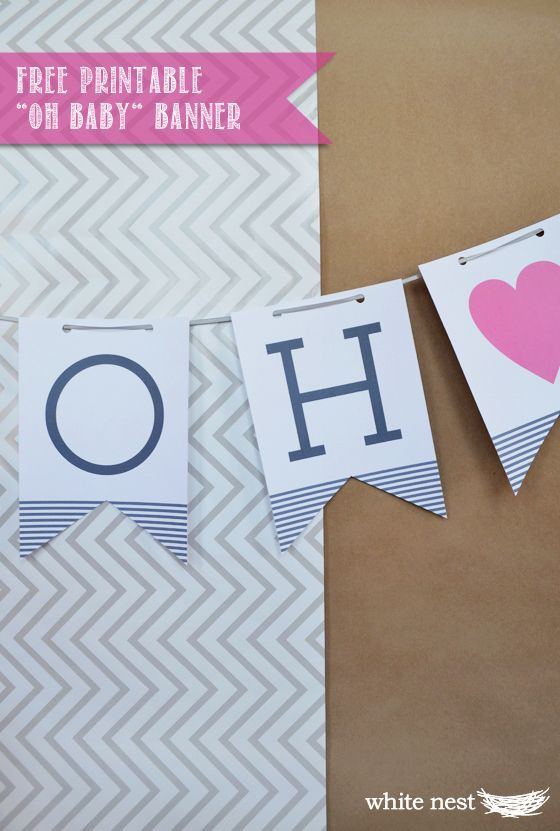 Baby Shower Banners DIY  25 best ideas about Wel e banner printable on Pinterest