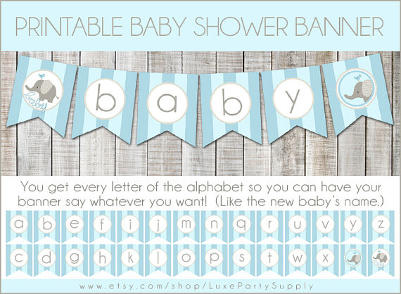 Baby Shower Banners DIY  DIY Baby Shower Banners s and for
