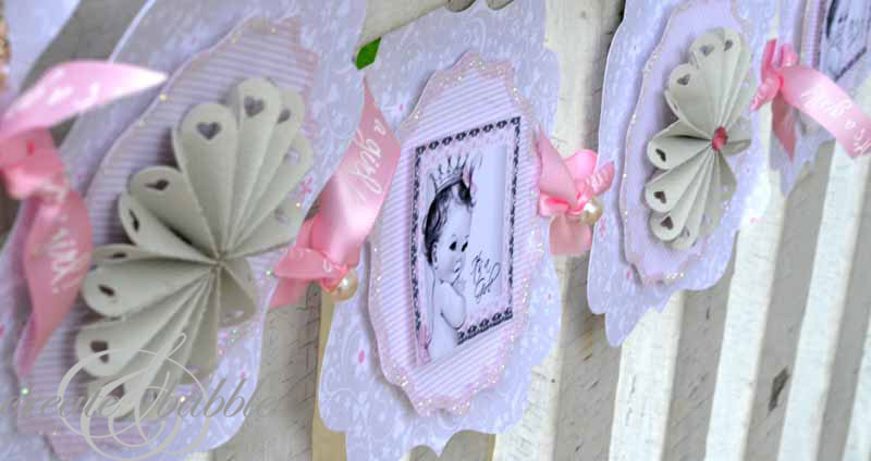 Baby Shower Banners DIY  Baby Girl Shower Decorations DIY Style Create and Babble