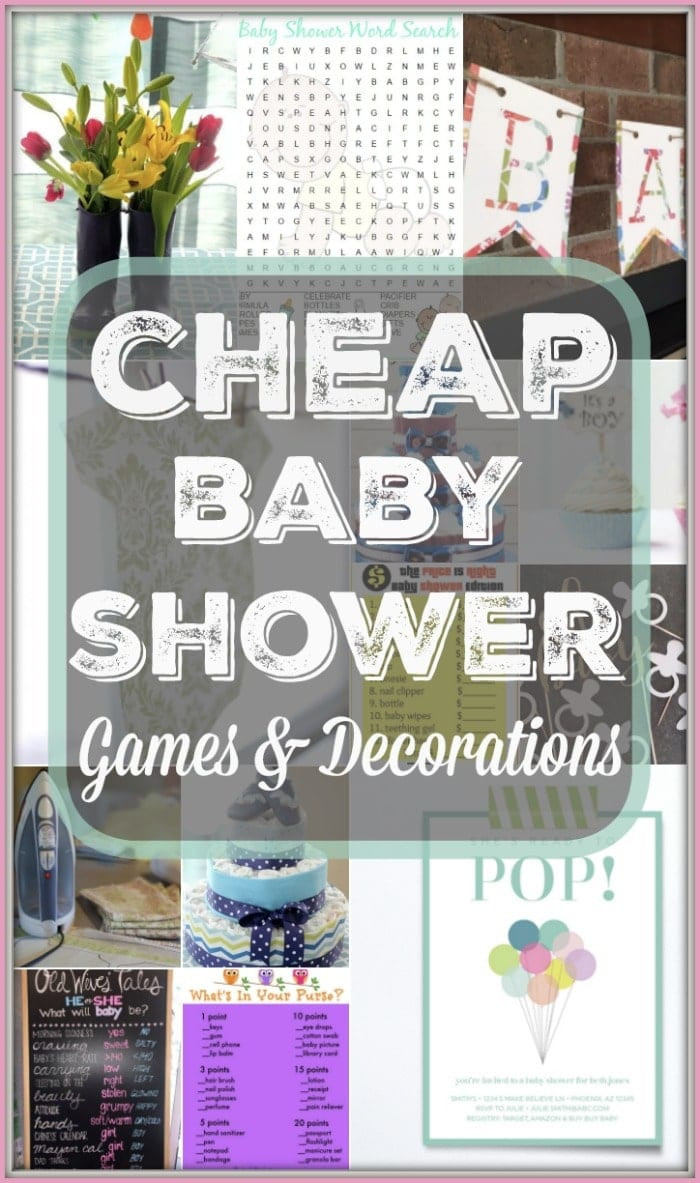 Baby Shower Decoration Ideas DIY  DIY Baby Shower Decorating Ideas · The Typical Mom