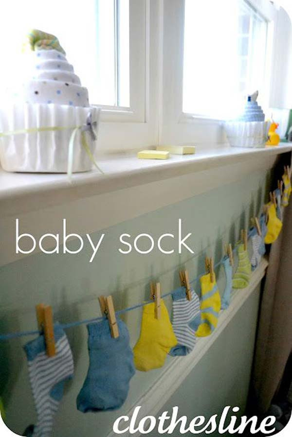 Baby Shower Decoration Ideas DIY  22 Cute & Low Cost DIY Decorating Ideas for Baby Shower Party