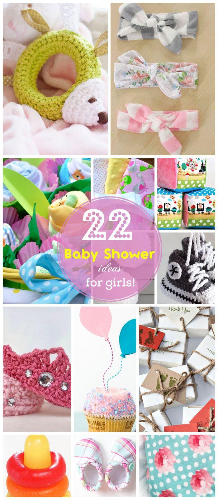 Baby Shower DIY Ideas  55 Easy Baby Shower Ideas for Girls