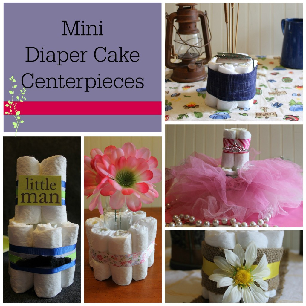 Baby Shower DIY Ideas  DIY Baby Shower Centerpieces Using Diapers Frugal Fanatic
