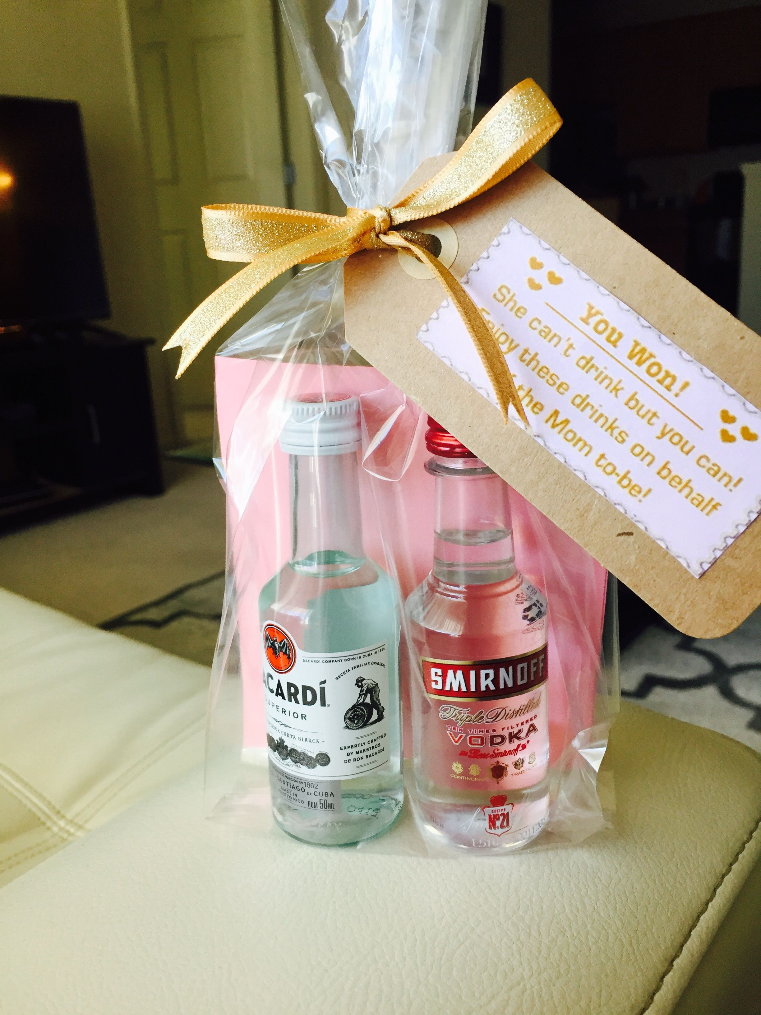 Baby Shower Games Gift Ideas  DIY baby shower game favors for men for a co ed shower