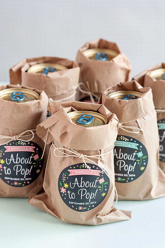 Baby Shower Gift Bags For Guests Ideas  3 Easy Baby Shower Favor Ideas Evermine Occasions