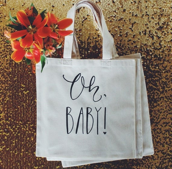 Baby Shower Gift Bags For Guests Ideas  Baby Shower Guest Favor or Baby Shower Gift Bag by DreamState