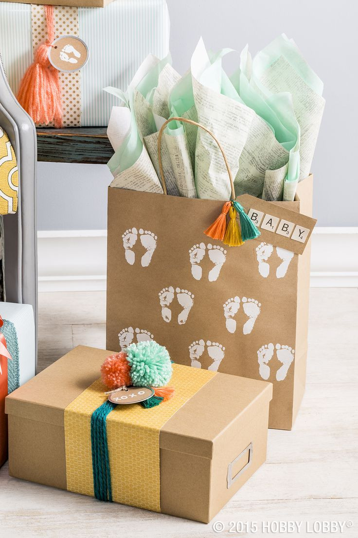 Baby Shower Gift Wrapping Ideas  25 unique Baby t wrapping ideas on Pinterest