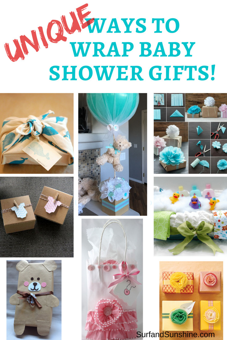 Baby Shower Gift Wrapping Ideas  Baby Shower Gifts and Clever Gift Wrapping Ideas