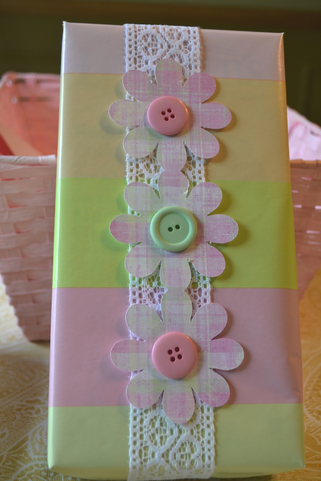 Baby Shower Gift Wrapping Ideas  Corner of Plaid and Paisley Baby Shower Gift Wrap