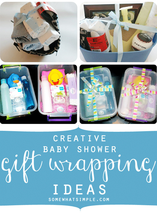 Baby Shower Gift Wrapping Ideas  Creative Baby Shower Gift Wrapping Ideas