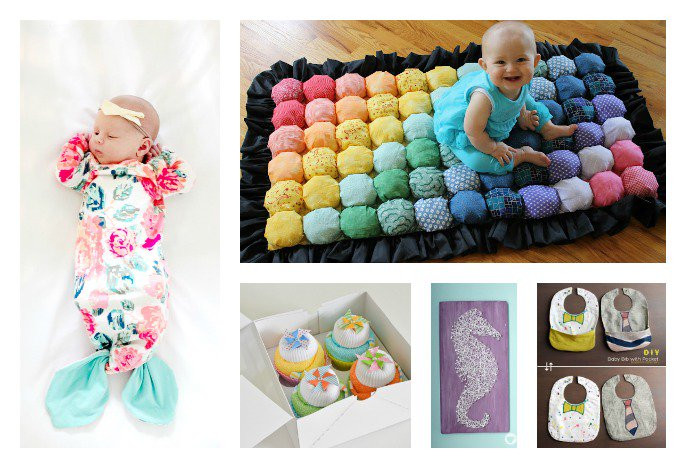 Baby Shower Gifts DIY  28 DIY Baby Shower Gift Ideas and Tutorials