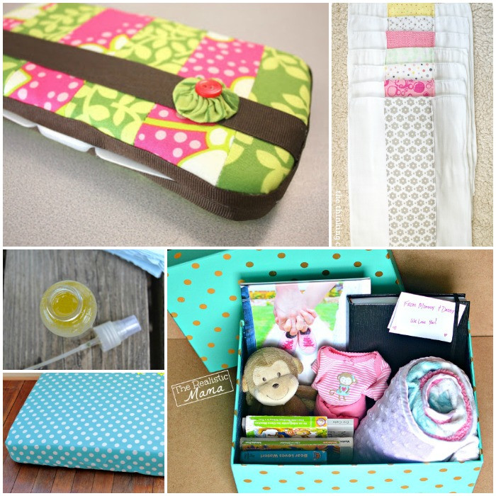 Baby Shower Gifts DIY  21 Adorable DIY Gifts for Baby Showers
