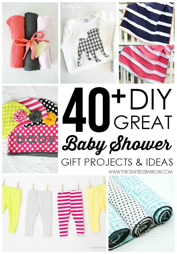 Baby Shower Gifts DIY  40 DIY Baby Shower Gift Ideas