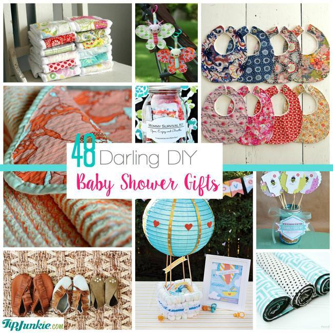 Baby Shower Gifts DIY  48 Darling DIY Baby Shower Gifts – Tip Junkie
