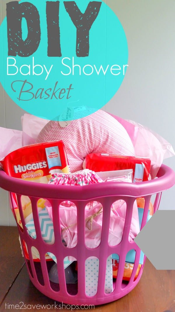 Baby Shower Gifts DIY  13 Themed Gift Basket Ideas for Women Men & Families