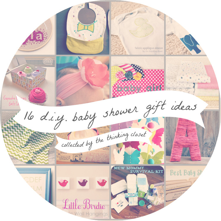 Baby Shower Gifts DIY  16 DIY Baby Shower Gifts — the thinking closet