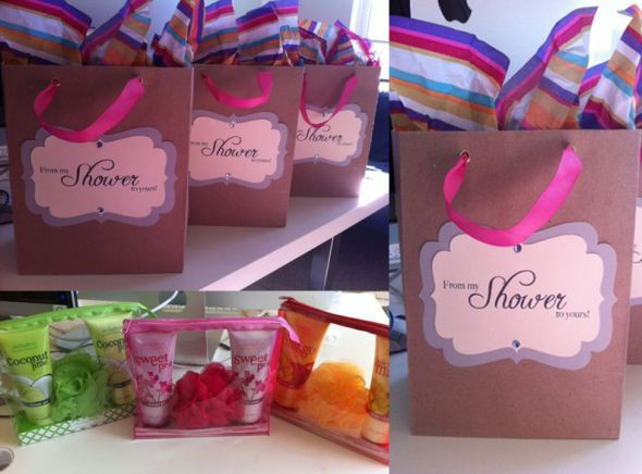 """Baby Shower Hostess Gift Ideas  """"From My Shower to Yours"""""""