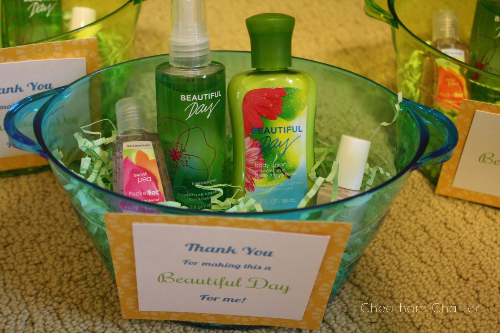 Baby Shower Hostess Gift Ideas  Cheatham Chatter Baby Shower Favors & Hostess Gifts