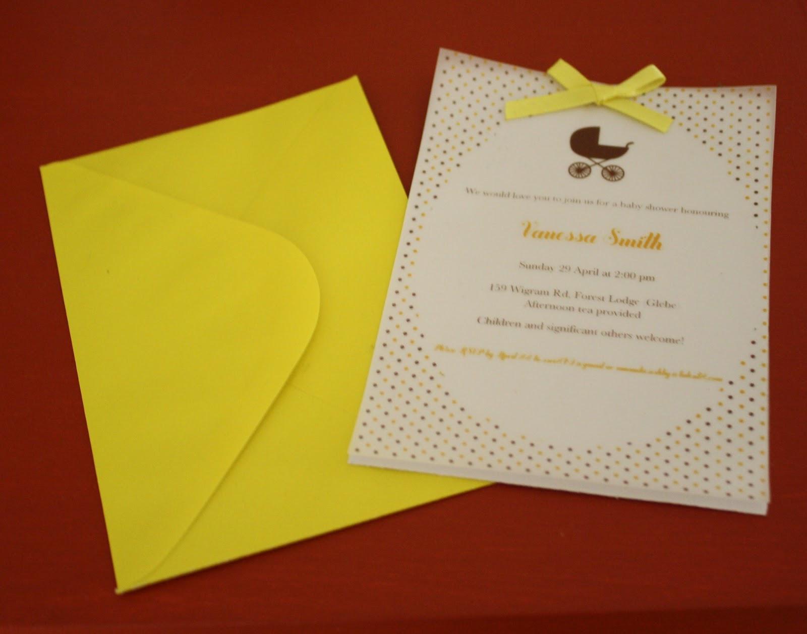 Baby Shower Invitations DIY  hello zogi Cute DIY baby shower invitations
