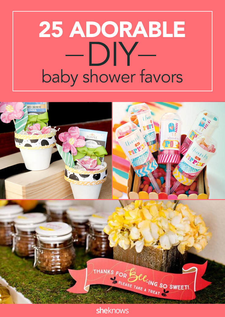Baby Shower Party Favors DIY  26 Adorable DIY Baby Shower Favors That Are so Much Better