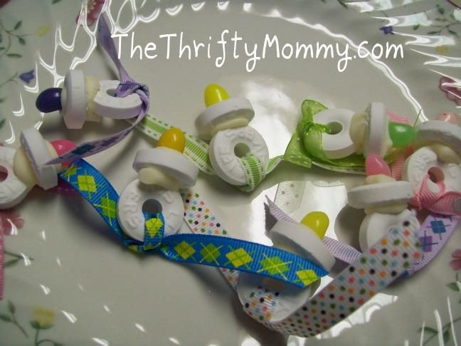 Baby Shower Party Favors DIY  DIY party favors DIY Do It Yourself Pacifier Baby Shower