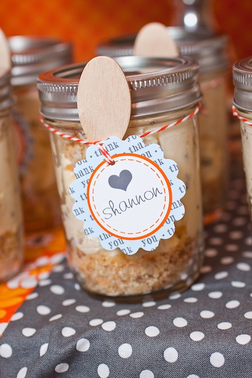 Baby Shower Party Favors DIY  Cheesecake Party Favors
