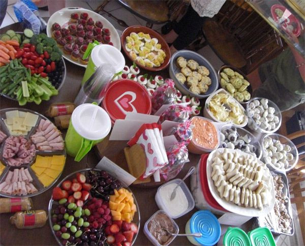 """Bachelorette Party Food Ideas  145 best images about Bachelorette """"WoW"""" Parties on"""