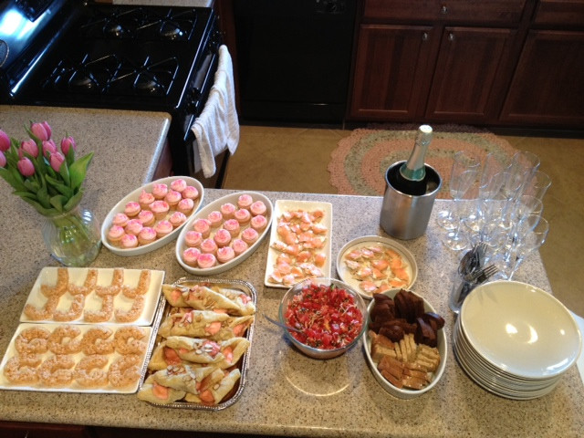 Bachelorette Party Food Ideas  Chef Carling Bachelorette Party Snacks Champagne