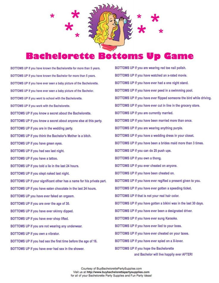 Bachelorette Party Game Ideas  24 Free Bachelorette Party Printables Every Bride Will
