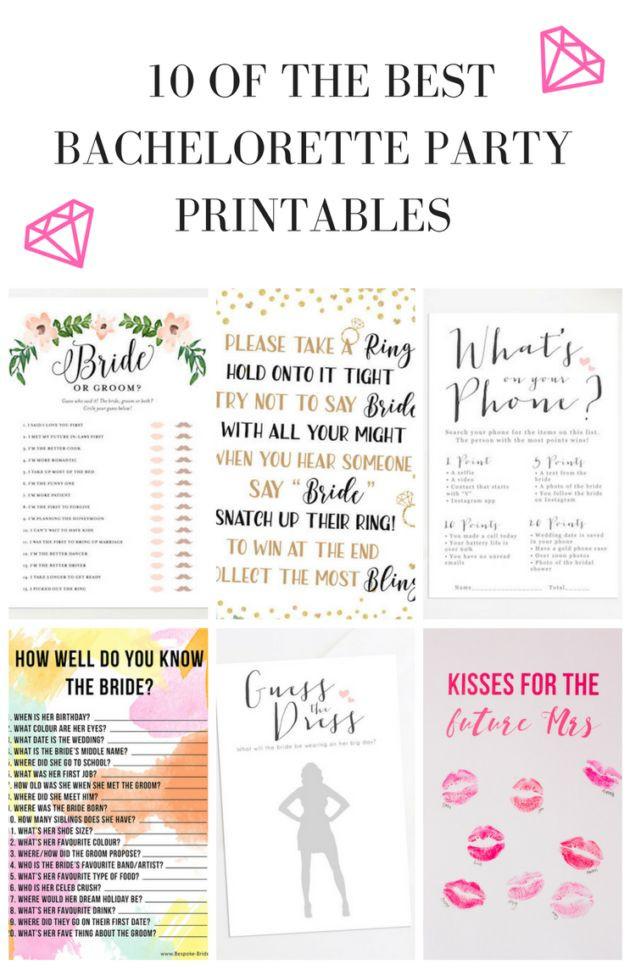 Bachelorette Party Game Ideas  17 Best ideas about Bachelorette Party Games on Pinterest