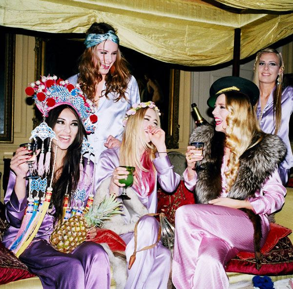 Bachelorette Slumber Party Ideas  17 Best images about Sleepover Party photoshoot props