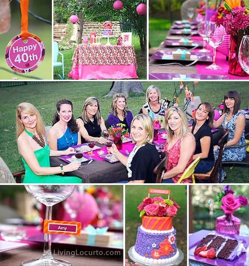 Backyard 40Th Birthday Party Ideas  40th Birthday Party Ideas
