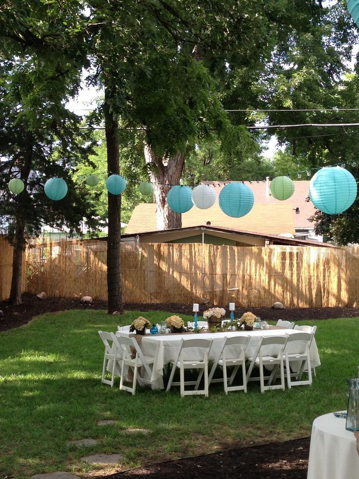 Backyard 40Th Birthday Party Ideas  246 best images about Graduation ideas on Pinterest