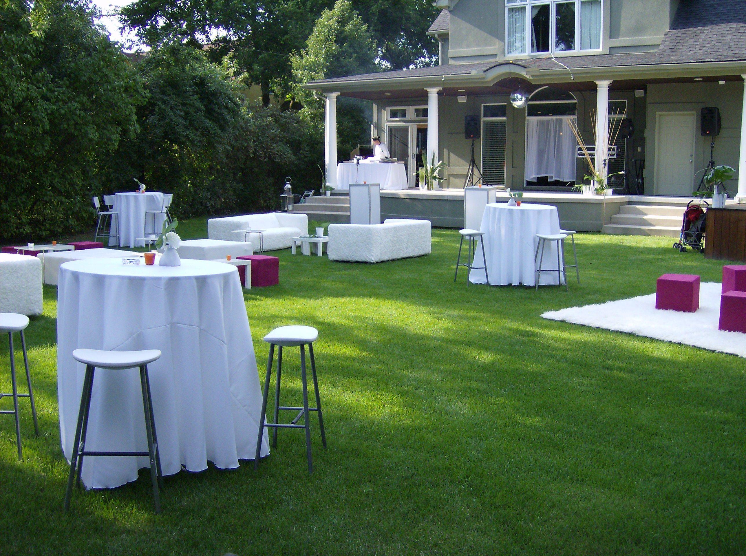 Backyard 40Th Birthday Party Ideas  Backyard Cocktail Party