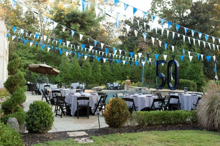 Backyard 50Th Birthday Party Ideas  50th birthday party themes for men Google Search