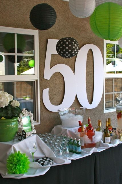 Backyard 50Th Birthday Party Ideas  44 best images about 50th Birthday Party Ideas on