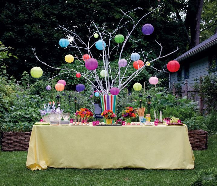 Backyard 50Th Birthday Party Ideas  backyard party ideas with simple and full of party