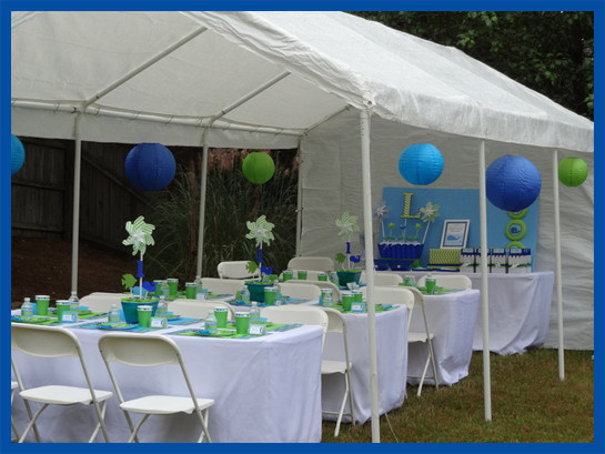 Backyard 50Th Birthday Party Ideas  Under the Sea Party SIMONEmadeit