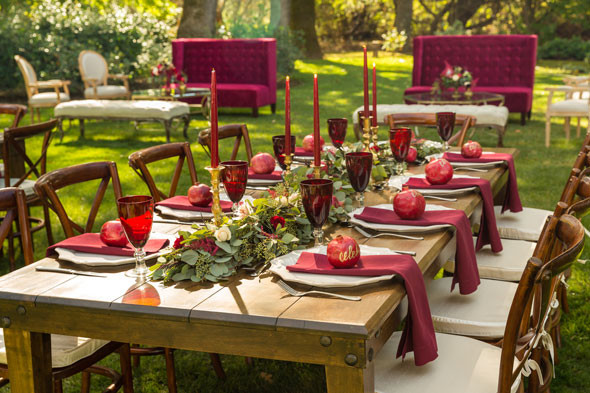 Backyard 60Th Birthday Party Ideas  Pomegranate Inspired 60th Birthday in Wine Country