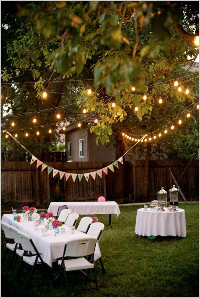 Backyard Bbq Party Decorating Ideas  Backyard Party Ideas For Adults