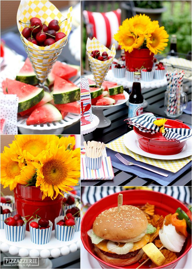Backyard Bbq Party Decorating Ideas  189 best Picnic & BBQ Party Idea s images on Pinterest