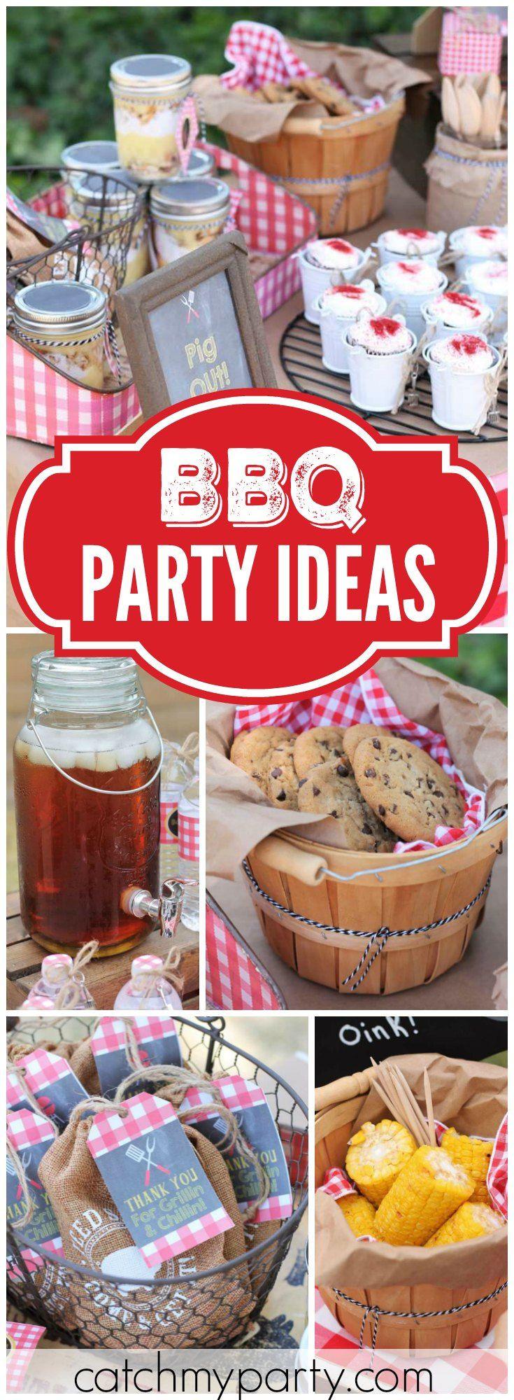 Backyard Bbq Party Ideas  The 25 best Backyard parties ideas on Pinterest