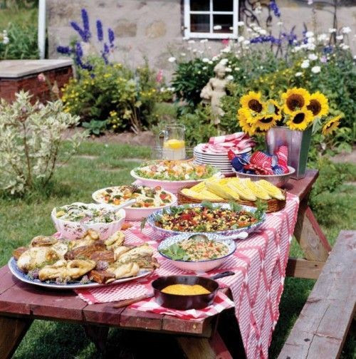 Backyard Bbq Party Ideas  barbecue party decorations ideas Backyard BBQ
