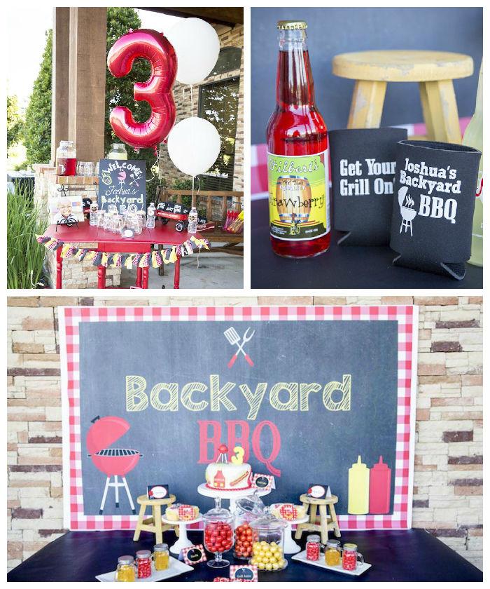 Backyard Bbq Party Ideas  Kara s Party Ideas Backyard BBQ Birthday Party