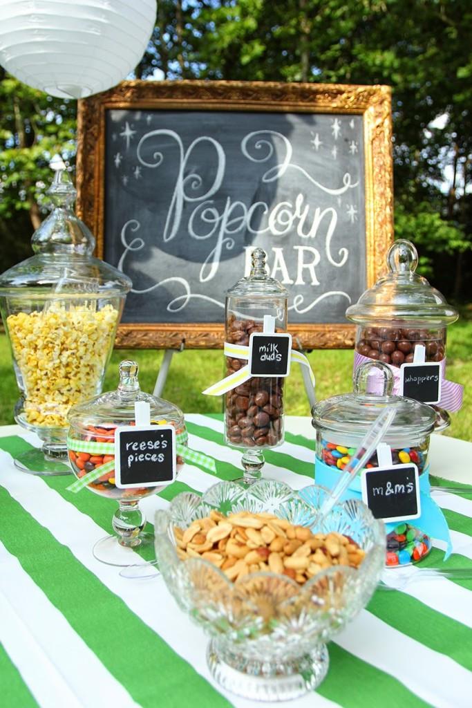 Backyard Birthday Party Ideas Sweet 16  Abby's Sweet 16 Outdoor Movie Party