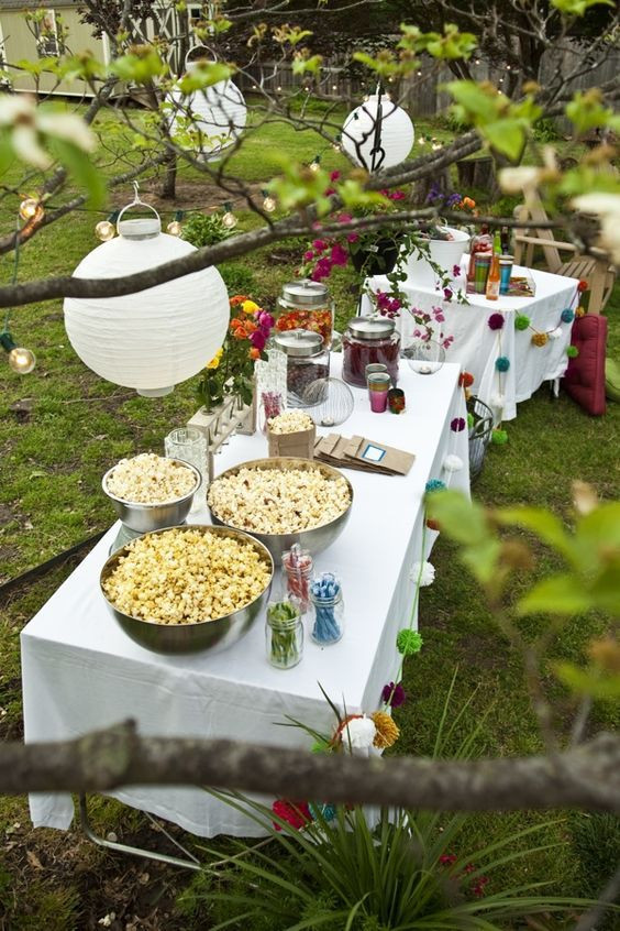 Backyard Birthday Party Ideas Sweet 16  1000 ideas about Outdoor Sweet 16 on Pinterest
