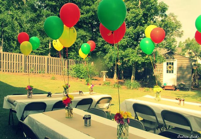Backyard College Graduation Party Ideas  Beatrice Banks Backyard Party College